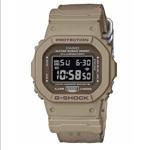 G -Shock DW5600LU-8 Watch - Khaki